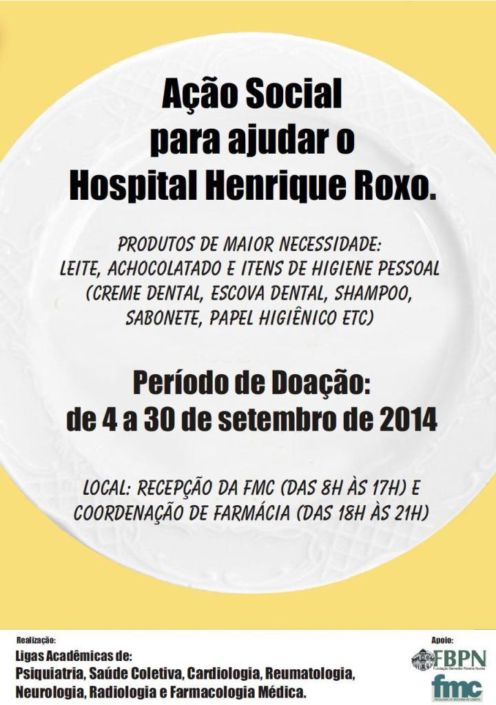 Campanha Hospital Psiquiátrico Henrique Roxo